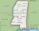 Mississipi Map